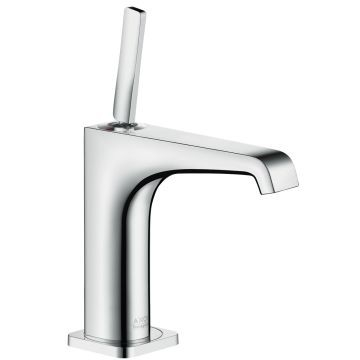 Axor - Citterio E Basin Mixer 125 without Pull Rod Brushed Nickel