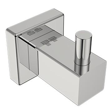 Bathroom Butler - 8500 Single Robe Hook Polished Stainless Steel