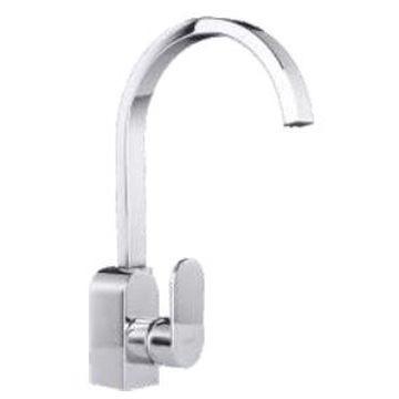Comap - Kappa Sink Mixer Single Lever Pillar-Mounted No Pop-Up Chrome
