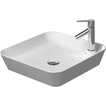 Duravit - Cape Cod Square Washbowl with Tap platform w/o Overflow 460x460mm White