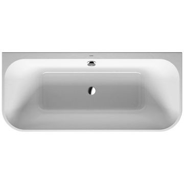 Duravit - Happy D2 Back To Wall Bathtub 1800x800mm White