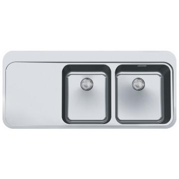 Franke - Sinos SNX221 LHD Sink DEB 1120x510x175mm SS