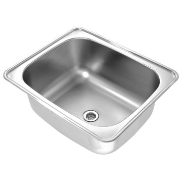 Franke - Luxtub DLT Wash Trough Inset Single Bowl 600x500x257mm Stainless Steel