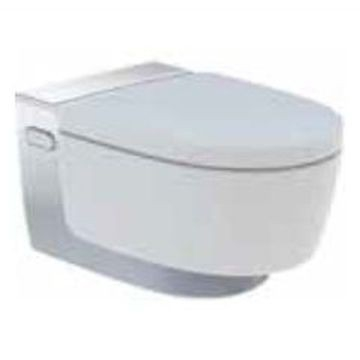 Geberit AquaClean Mera Classic WC complete solution, wall-hung WC: bright chrome-plated