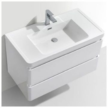Gio Plumbing - Gucci Basin & Cupboard 900x480mm White