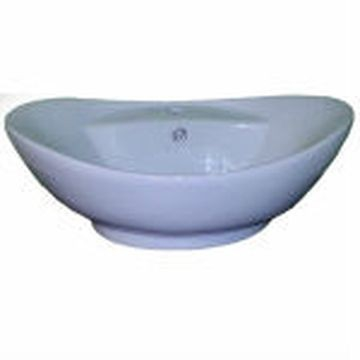 Hammonds - Panama Countertop Basin Oval 590x385x215mm White