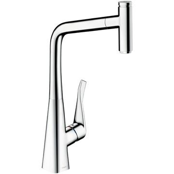 Hansgrohe - Metris Select KM Pull-Rod-Out Chrome