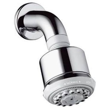 Hansgrohe - Clubmaster 3 Jet Shower with Shower Arm Ecosmart Chrome