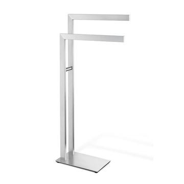 Zack - Linea Towel Stand 800x150x390mm Brushed Stainless Steel