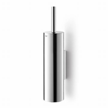 Zack - Tubo Toilet Brush Wall-Mounted Polished Stainless Steel