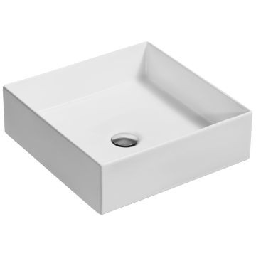 Kohler - Mica Square Vessel Basin 393 x 393mm White