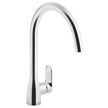 Kohler - Kumin Sink Mixer Ceramic Disc Cartridge and Braided SS Hoses Chrome