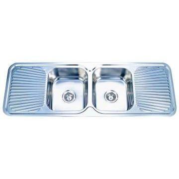 Kwikot   Classique Drop-In Sink DCB 1390x480mm S/Steel
