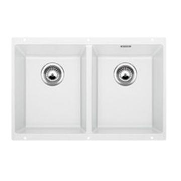 Blanco - Subline 350-U Sink Underslung DB 755x460x200mm White