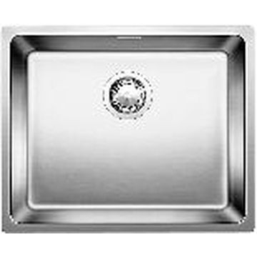 Blanco - Andano 500-U Sink SB Underslung w/ Waste & Plumbing Kit 540x440x190mm SS Satin Polish