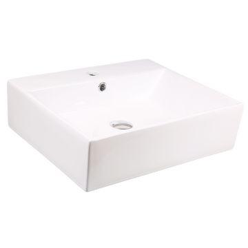 Lecico - Adesso Bordo Countertop Basin White