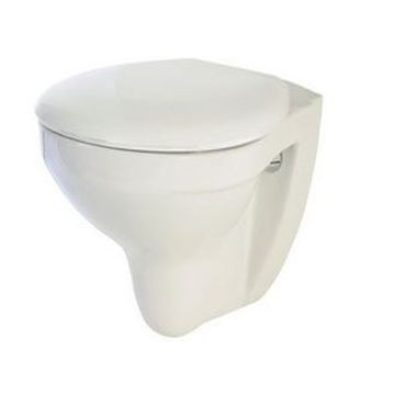 Lecico - Sydney Wall-Hung Pan with MDF Seat White