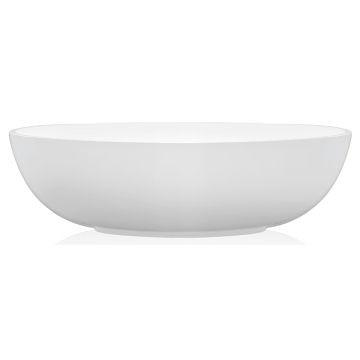 Livingstone Baths - Interno Bath Freestanding Oval 1620x905x475mm White