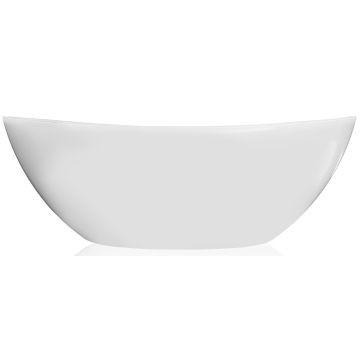 Livingstone Baths - Perlato Freestanding Bath 1680x845x570mm Grey