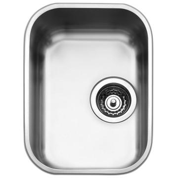 Smeg - Alba Design Underlsung Sink 320x420mm Stainless Steel