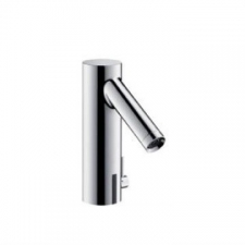 Axor - Starck Electronic Basin Mixer with Temperature Control & Mains Connection Chrome
