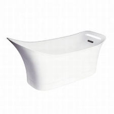 Axor - Urquiola Freestanding Bath Tub 1800mm Alpin White
