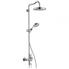 Axor - Montreux Shower Pipe with Thermostatic Mixer Chrome