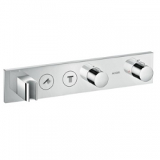 Axor - Thermostatic Module Select 460/90 For 2 Outlets Finish Set Chrome