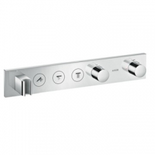 Axor - Thermostatic Module Select 530/90 For 3 Outlets Finish Set Chrome