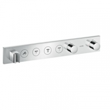 Axor - Thermostatic Module Select 600/90 For 4 Outlets Finish Set Chrome