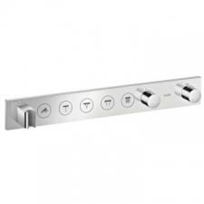 Axor - Thermostatic Module Select 670/90 For 5 Outlets Finish Set Chrome