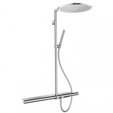 Axor - Showerpipe 800 with Thermostatic Mixer & Overhead Shower 350 1Jet