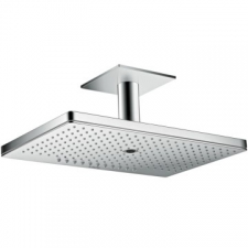 Axor - Overhead Shower 460/300 3Jet With Ceiling Connector Chrome