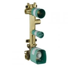 Axor - Citterio E Basic Set for Thermostatic Module 380x120 for 3 Outlets
