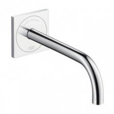 Axor - Uno² Wall-Mounted Electronic Basin Mixer with Spout 225mm Chrome