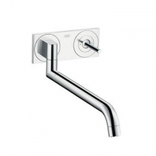 Axor - Uno² Wall-Mounted Single Lever Kitchen Mixer Chrome