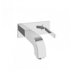 Axor - Citterio Wall-Mounted Single Lever Basin Mixer with Spout 165mm Chrome