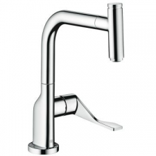 Axor - Citterio Sink Mixer Single Lever w/ Pull-Out Spray Chrome