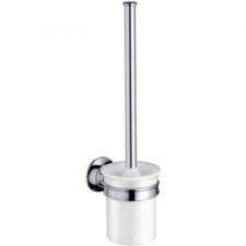 Axor - Montreux Wall-Mounted Toilet Brush Holder with Brush Brushed Nickel