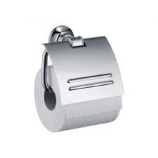 Axor - Montreux Paper Roll Holder with Cover Brushed Nickel
