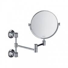 Axor - Montreux Shaving Mirror with Extendable Arm Brushed Nickel