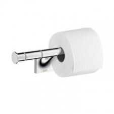 Axor - Starck Organic Double Toilet Roll Holder Chrome