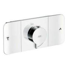 Axor - One Shower Mixer Thermostat Concealed 2 Outlet Chrome