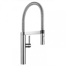 Blanco - Culina-S Sink Mixer Single Lever Pillar-Mounted Chrome