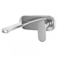 Bay Basin Mixer Concealed with Spout Chrome - BluTide