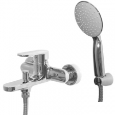 Bay Bath Mixer Wall Type Chrome - BluTide