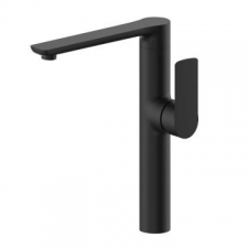 Dune One Hole Sink Mixer Black - BluTide
