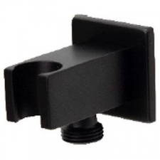 Square Wall Outlet Black - BluTide