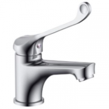 Teal Elbow Action STD Basin Mixer - BluTide