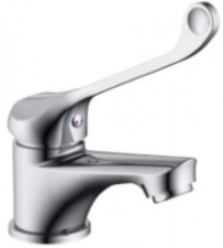 Teal Elbow Action Guest Basin Mixer - BluTide